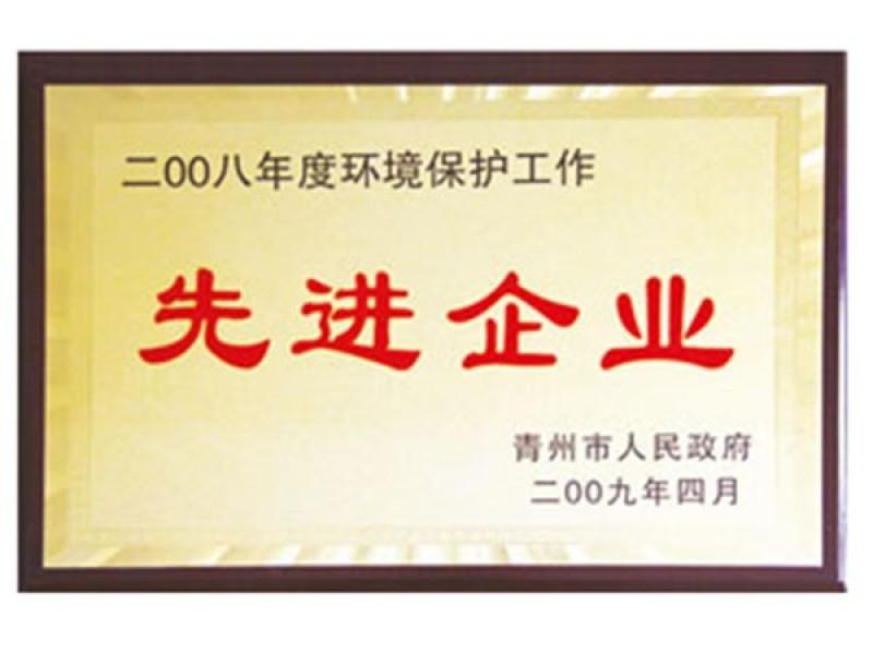 2008年度环境保护工作先进企业